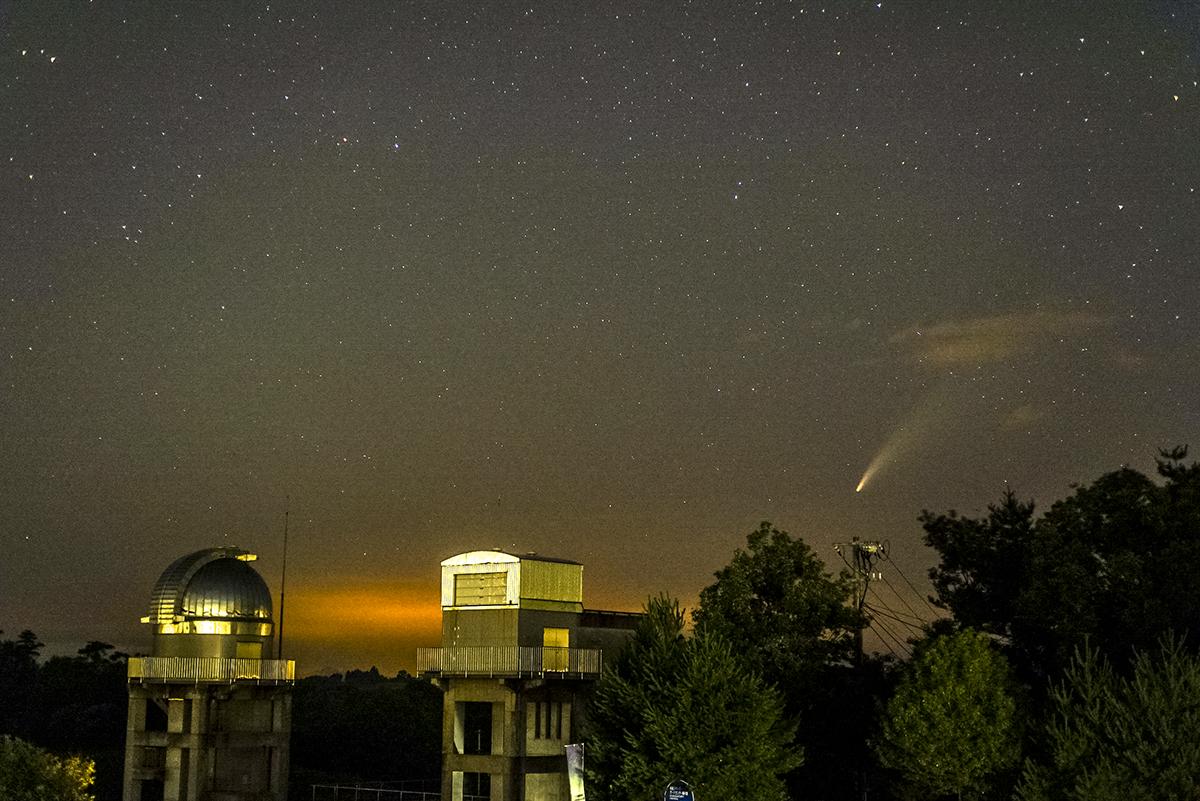 いつまで ネオワイズ 彗星